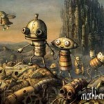 the adventure of a robot in love: machinarium